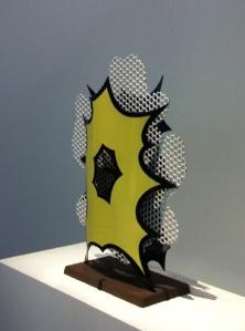 Roy Lichtenstein - Centre Pompidou - Sculpture