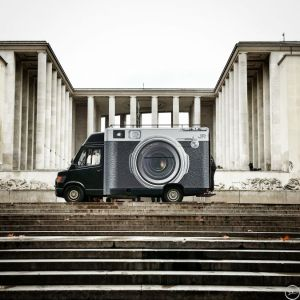 Photobooth truck - JR art