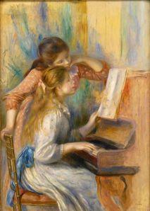 Renoir - Jeunes filles au piano