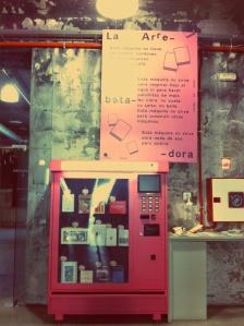 Matadero - distributeur de livres