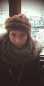 Chapka de rigueur, à Buda le froid est bien là !