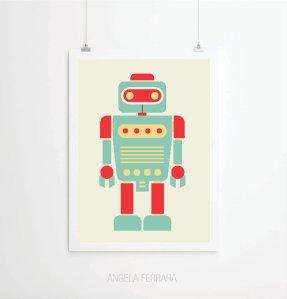 Angela Ferrara - robot